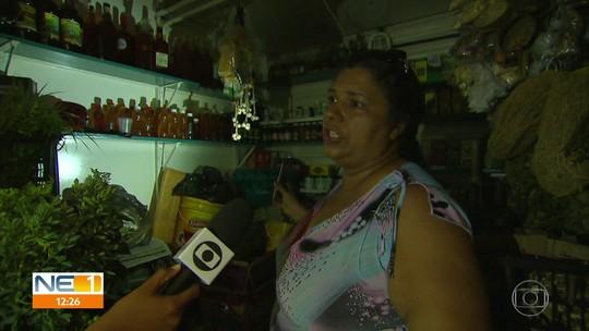 Anexo do Mercado de São José tem energia cortada após prefeitura atrasar pagamento
