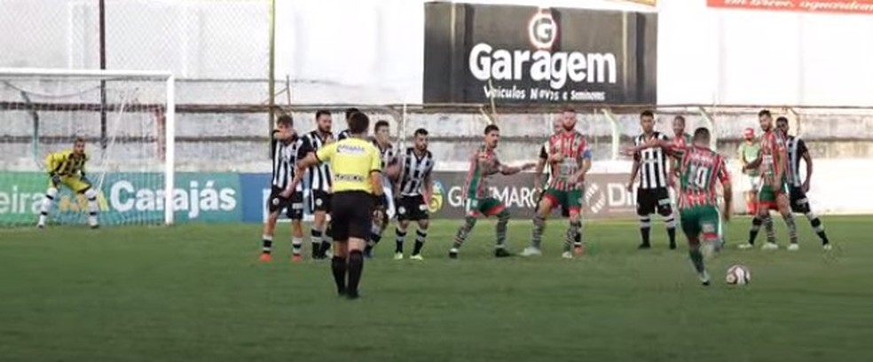 Em Palmeira dos Índios, CSE vence o ASA pela seletiva da Copa do Brasil — Foto: Reprodução/FAFTV
