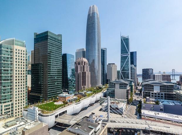 Prédio em São Francisco ganha prêmio de melhor arranha-céu do mundo  (Foto: Reprodução )