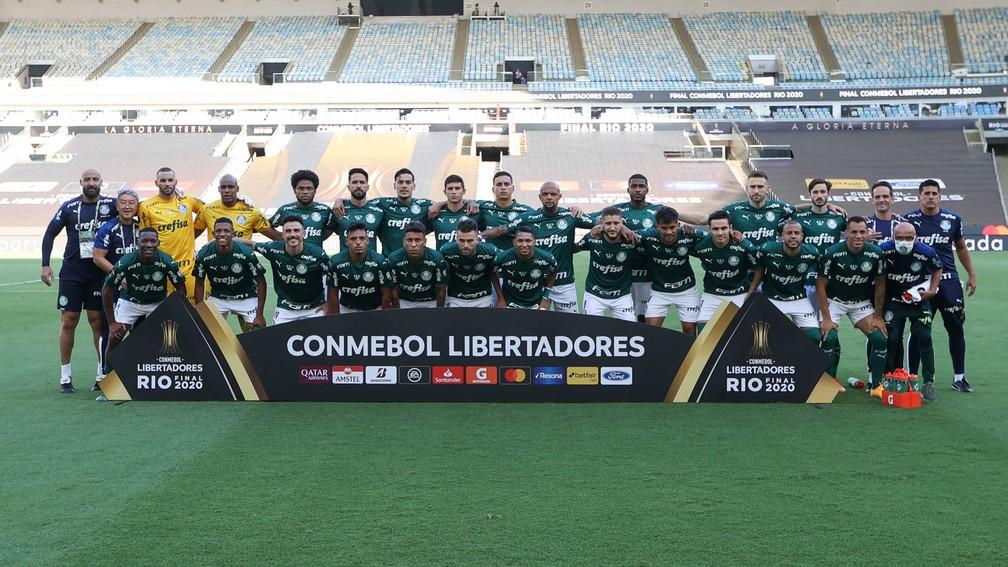 Palmeiras campeão da Libertadores 2020 — Foto: Cesar Greco / Ag. Palmeiras