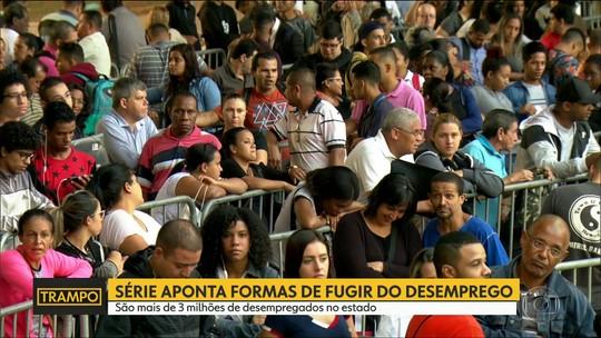 Estado de SP tem 3,7 milhões de desempregados