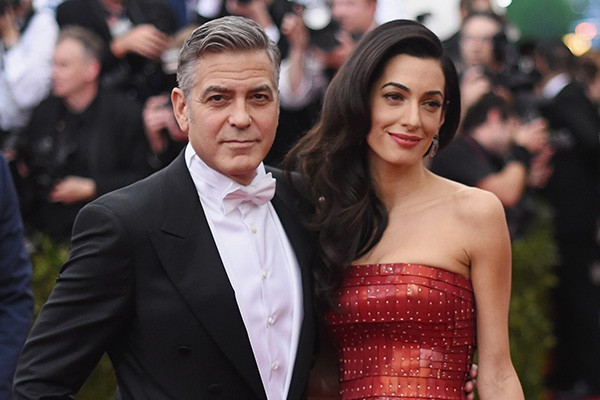 George Clooney e Amal Alamuddin (Foto: Getty Images)