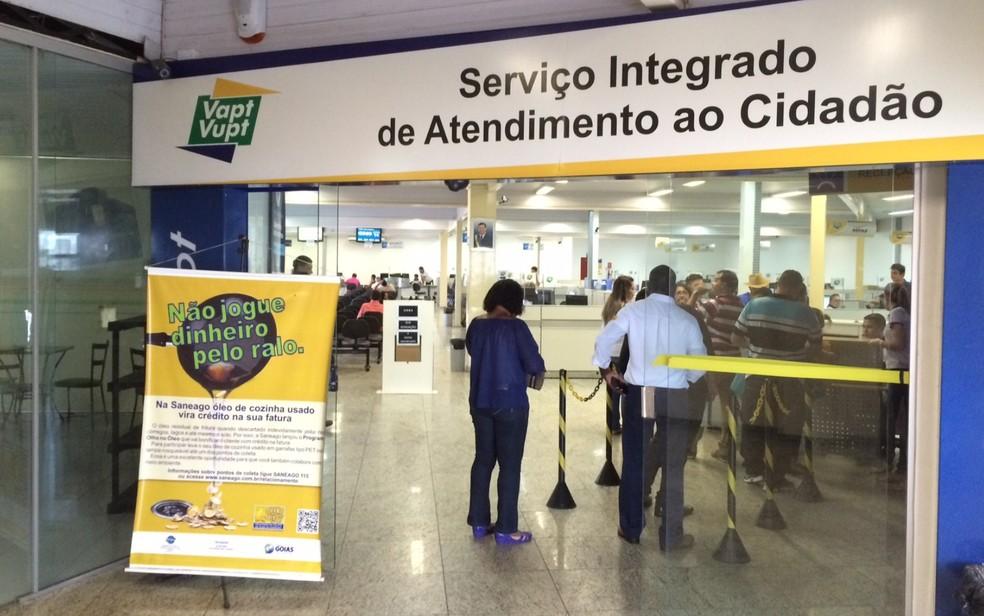 Unidades do Vapt-Vupt terá horário especial neste feriado de 1º de maio, em Goiânia, Goiás (Foto: Sílvio Túlio/G1)