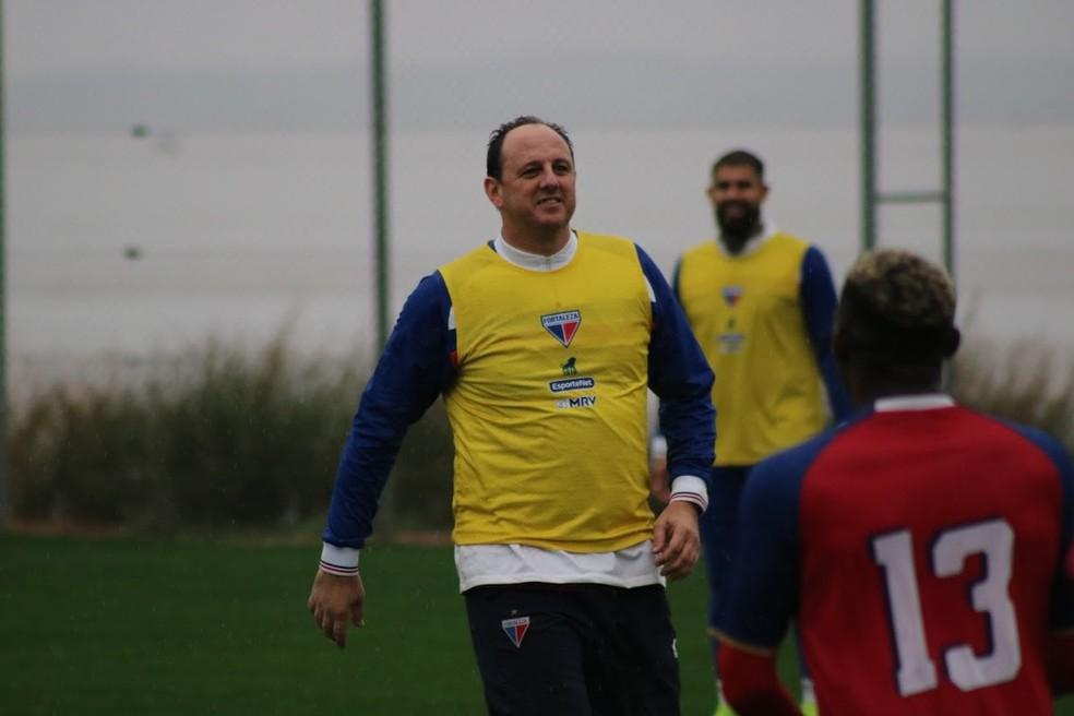 Rogério Ceni, técnico do Fortaleza — Foto: Bruno Oliveira/Fortaleza EC