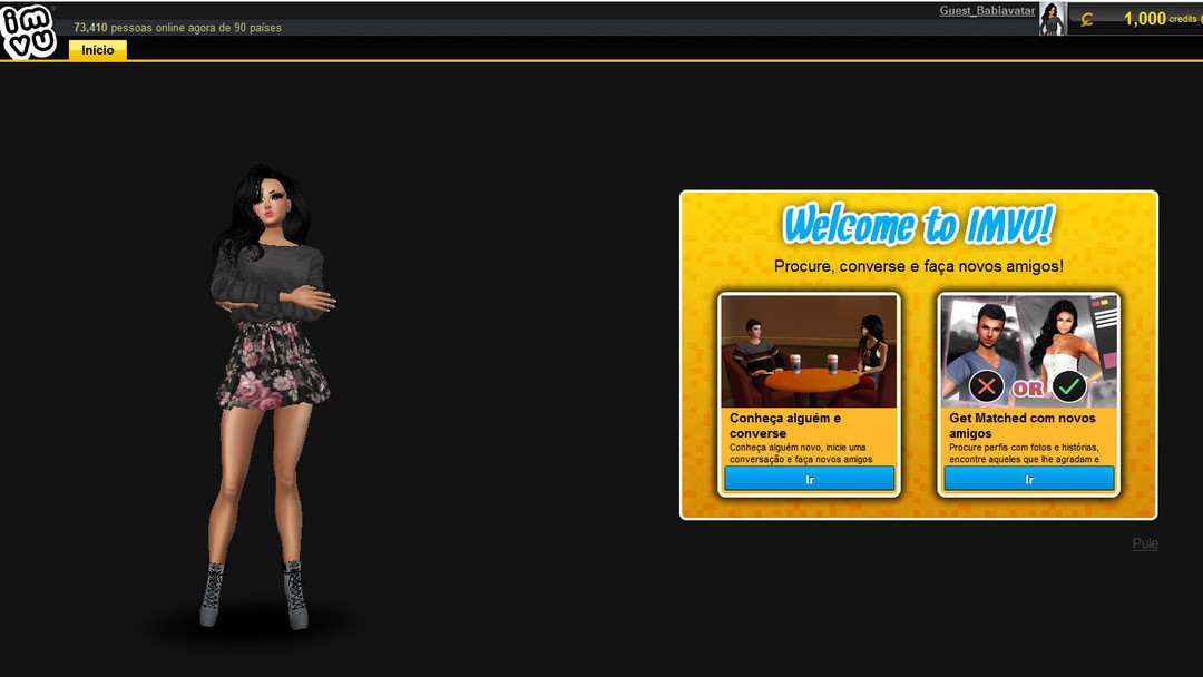 IMVU   Download   TechTudo