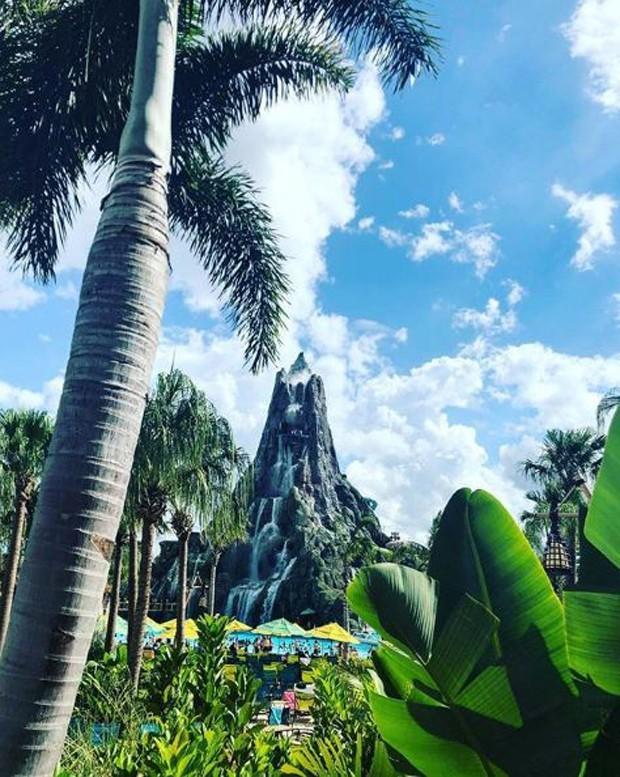 Grazi Massafera no Universal Orlando Resort (Foto: Reprodução/Instagram)