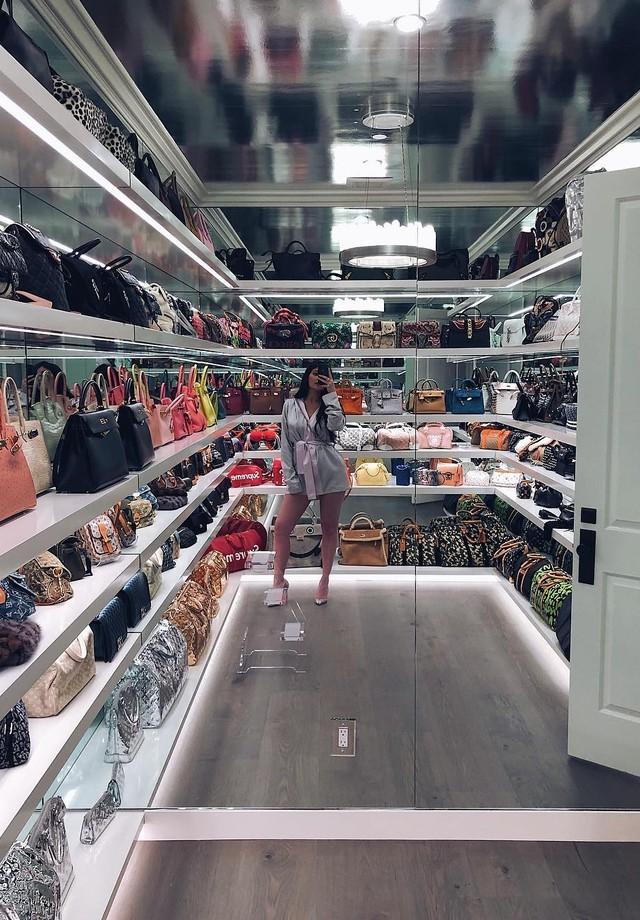 Closet da Kylie Jenner (Foto: Reprodução/Instagram)
