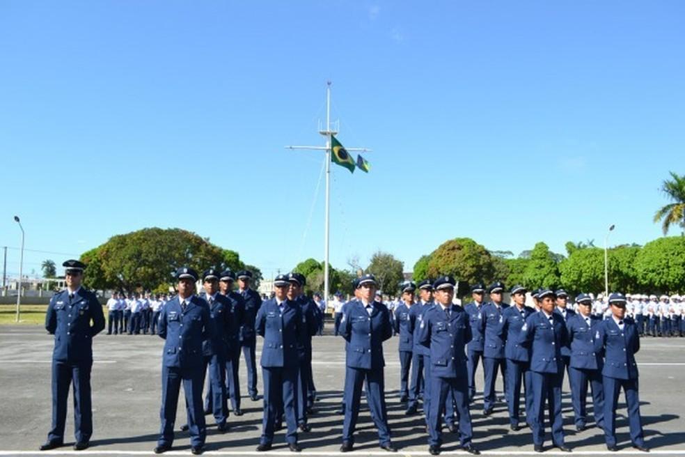 Força Aérea Brasileira (FAB).  — Foto: Divulgação/FAB