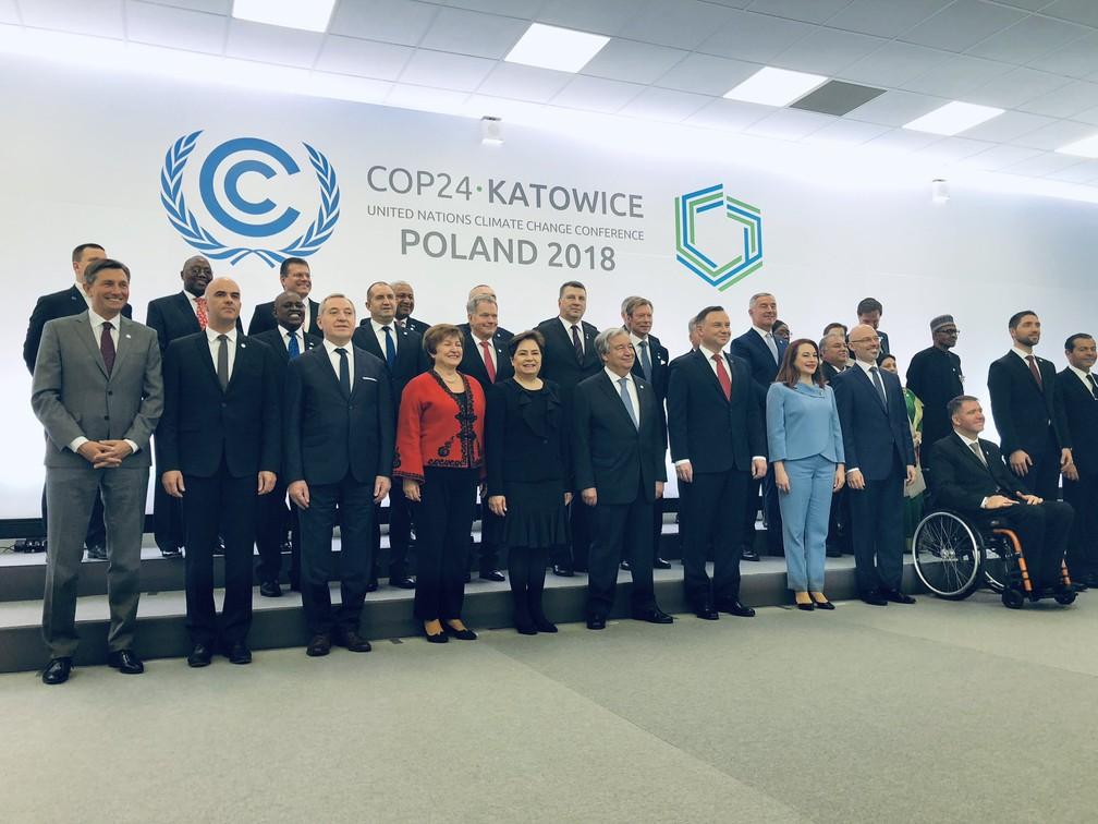 A presidente do Banco Mundial, Kristalina Grigorieva, na COP24. — Foto: Twitter (Kristalina Grigorieva)
