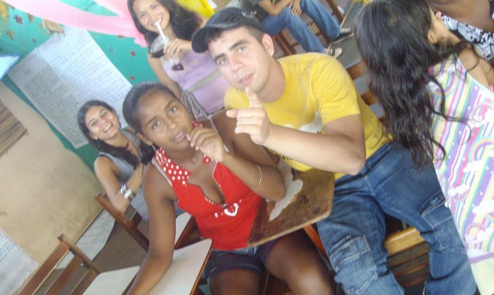 Relacionamento de Agapito e Ângela começou na juventude — Foto: Ângela Martins/Arquivo pessoal