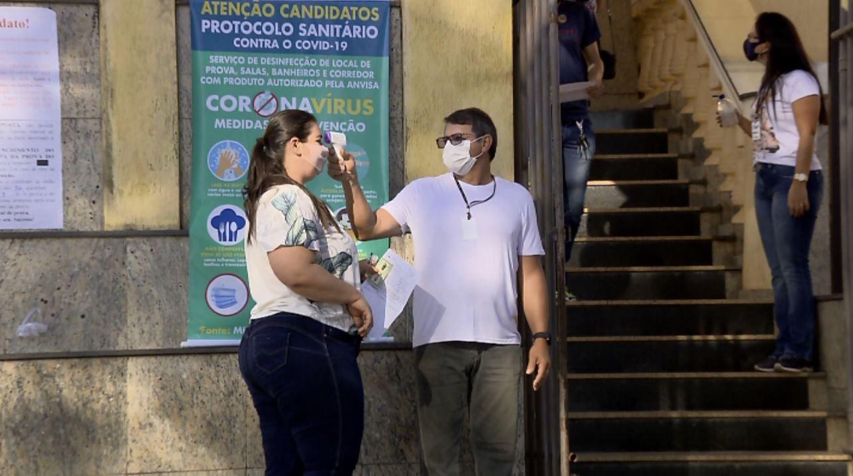 Concurso público em Areado com mais de 3 mil inscritos é aplicado com medidas sanitárias