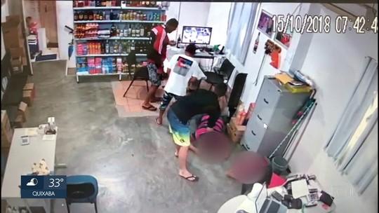 Bandidos assaltam depósito de bebidas na Zona da Mata de Pernambuco