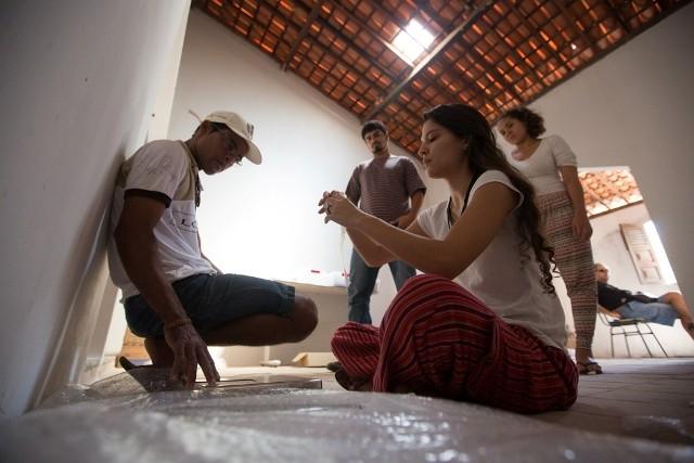 Mostagem da Exposição Kapinawá, em Buíque (Foto: Rafael Martins/ Divulgação)