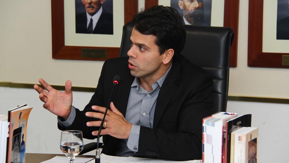 Francisco Seráphico foi o mais votado na eleição para a lista tríplice do Ministério Público da Paraíba (Foto: Ernane Gomes/MPPB)