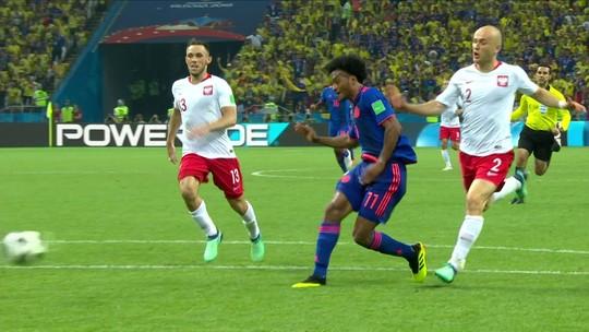 Melhores momentos: Polônia 0 x 3 Colômbia pela 2ª rodada do Grupo H