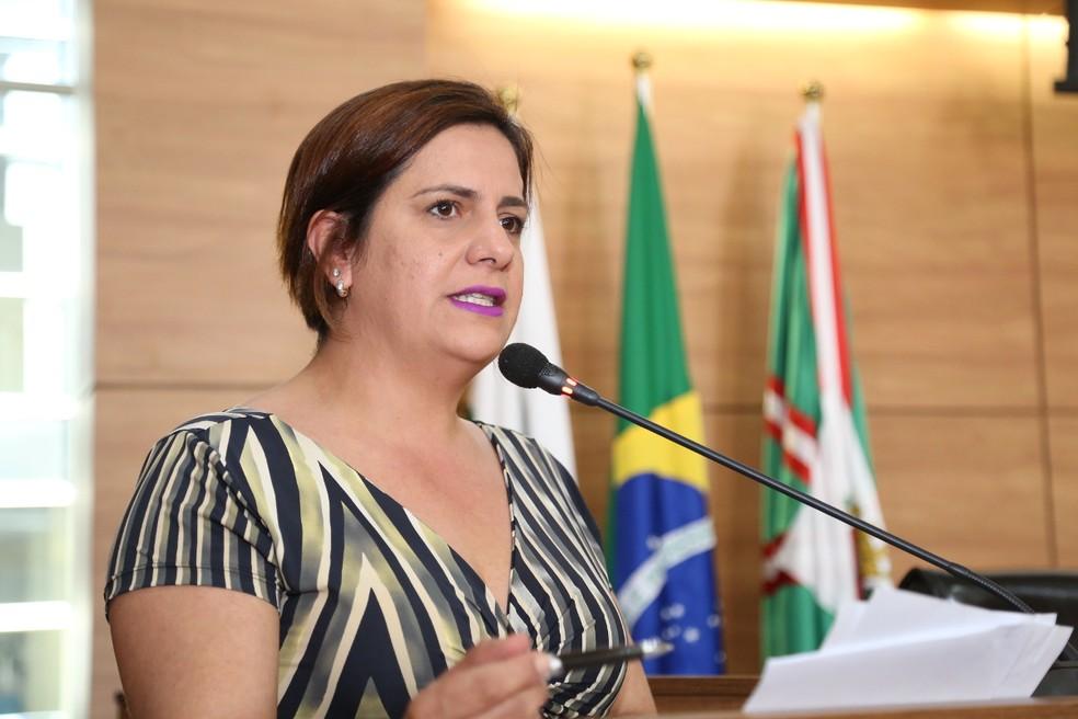 Vereadora de Curitiba Fabiane Rosa é suspeita de 'rachadinha' — Foto: Divulgação/ Câmara de Curitiba