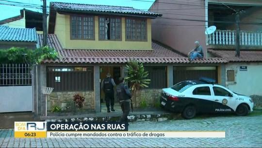 Polícia faz operação contra o tráfico e venda ilegal de gás no Rio