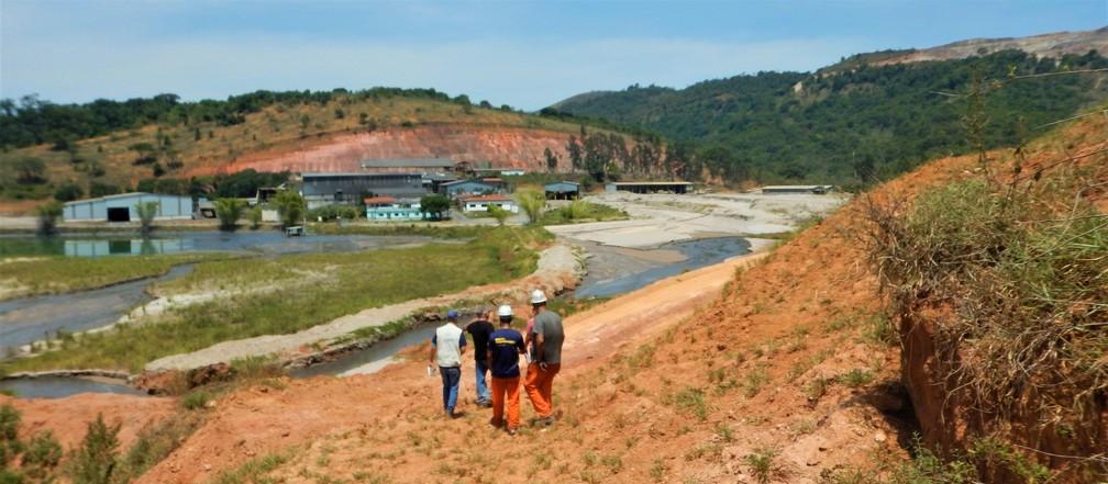 Barragem com risco maior que Brumadinho e Mariana é interditada na Bahia por risco de rompimento e inundação — Foto: Divulgação