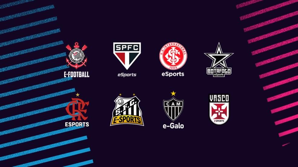 Clubes gigantes do futebol brasileiro participam do eGol Pro — Foto: Divulgação