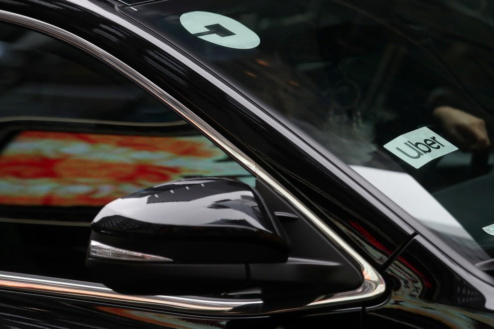 Aplicativos são responsáveis por boa fatia dos carros alugados — Foto: REUTERS/Shannon Stapleton