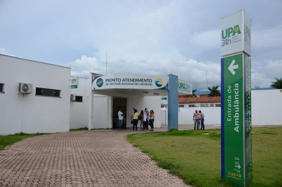 Unidade de Pronto Atendimento (UPA) Rondonópolis — Foto: Wheverton Barros