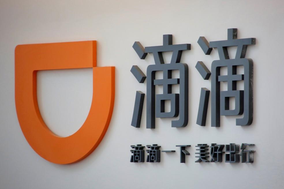Imagem de arquivo do logo da empresa Didi Chuxing em sua sede em Pequim, China (Foto: Reuters/Kim Kyung-Hoon/Arquivo)