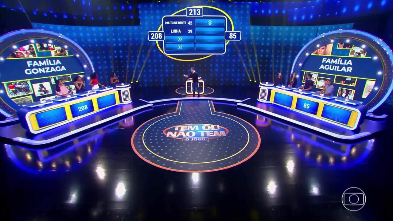 Família Aguilar e Família Gonzaga continuam na disputa do Tem Ou Não Tem