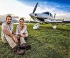 Amanda Richter e Max Fercondini: 'Sobre as asas' | Arquivo pessoal