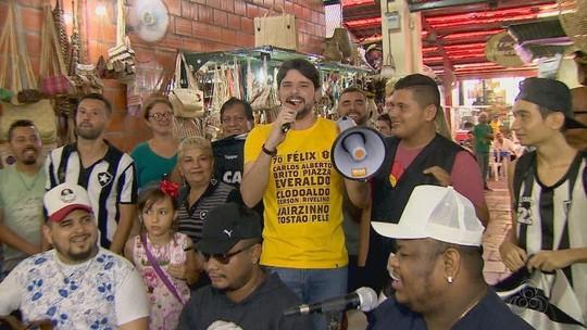 """X-Caboquinho com Thiago: """"povo"""" comenta abertura do Cariocão"""