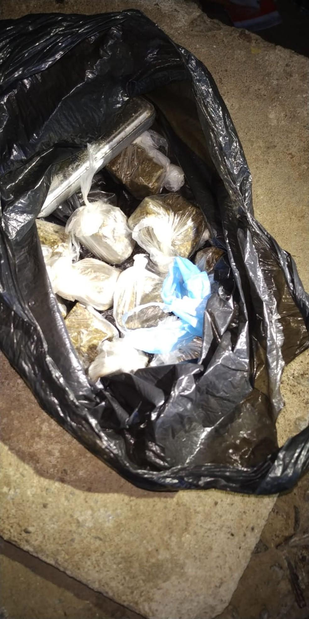 Drogas foram apreendidas durante Operação Xeque Mate em Maceió e Maribondo — Foto: SSP