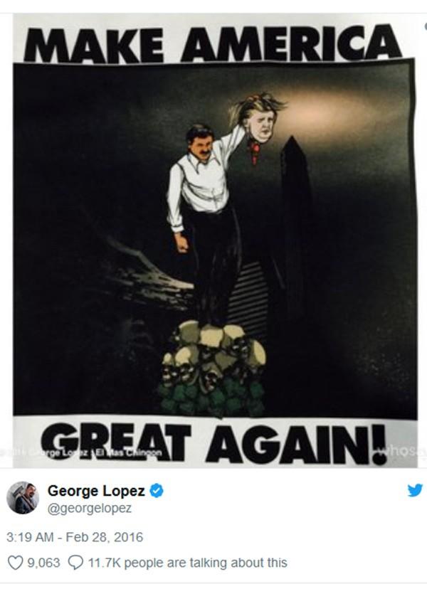 George Lopez (Foto: Twitter)