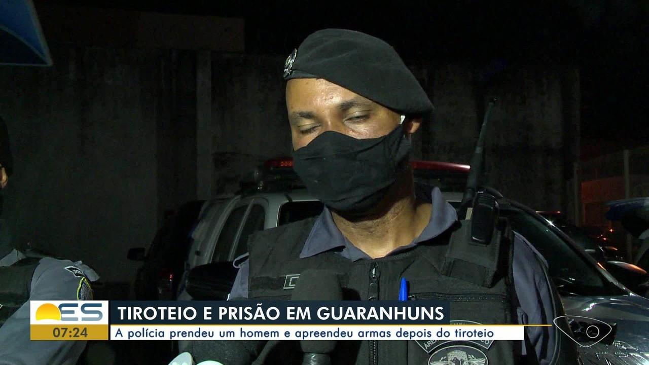 Homem é preso suspeito de participar de tiroteio em Guaranhuns, Vila Velha, ES