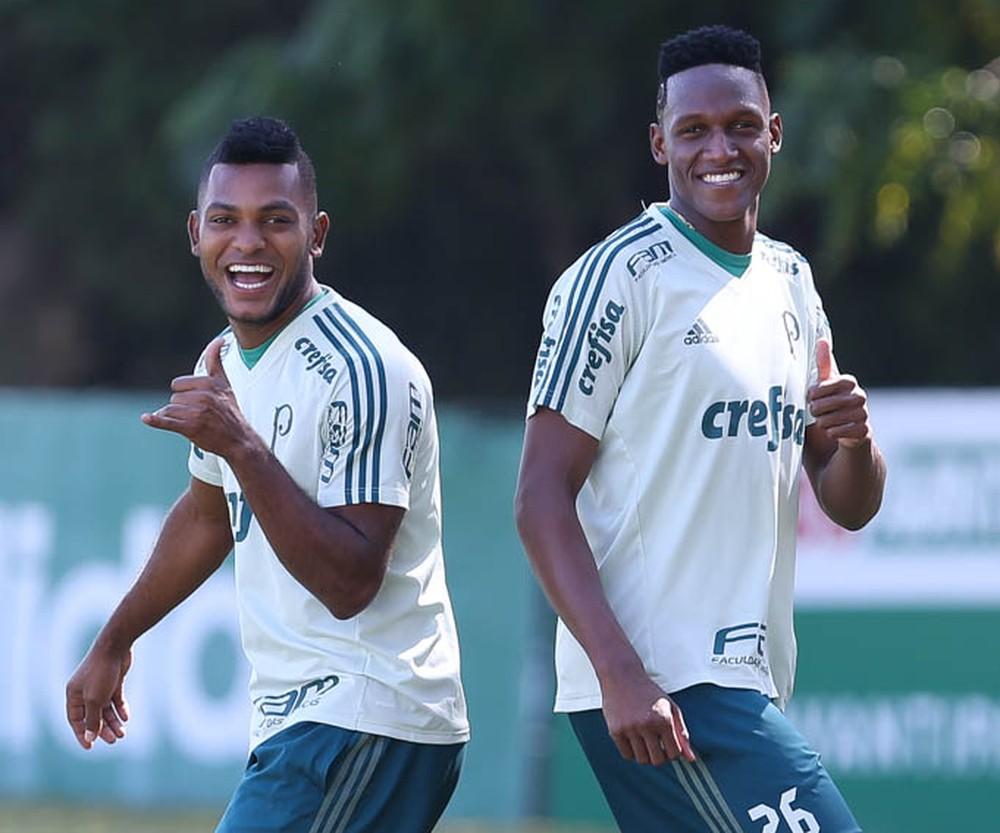Site italiano cita interesse da Sampdoria em colombianos do Palmeiras