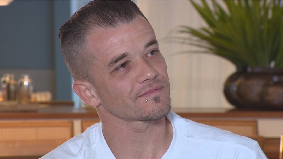 Em entrevista recente à RBS TV, D'Alessandro se emocionou ao relembrar trajetória no Inter (Foto: Reprodução / RBS TV)