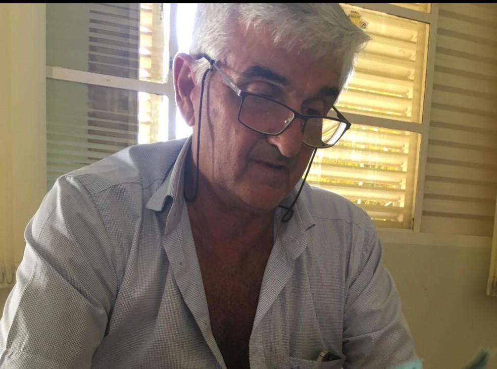 Maurício Curvo, de 61 anos, foi assassinado em MT. — Foto: Arquivo Pessoal