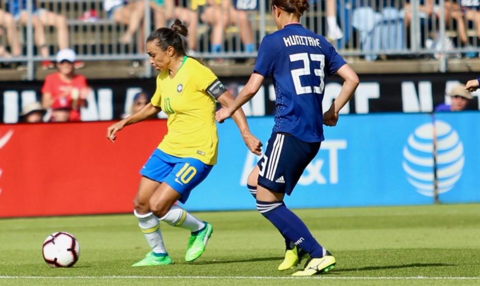 Marta, do futebol — Foto: Gregório Fernandes