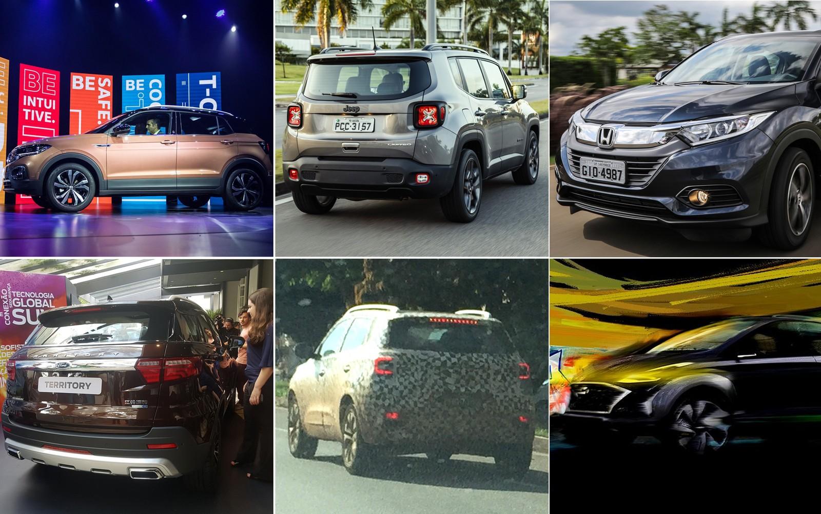 15 dias que mexeram com a categoria dos SUVs: veja quais são as novidades Suvs-novidades
