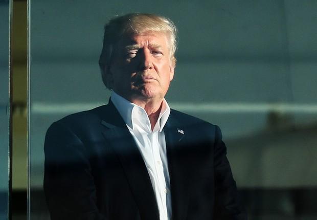 O presidente norte-americano Donald Trump (Foto: Rob Carr/Getty Images)