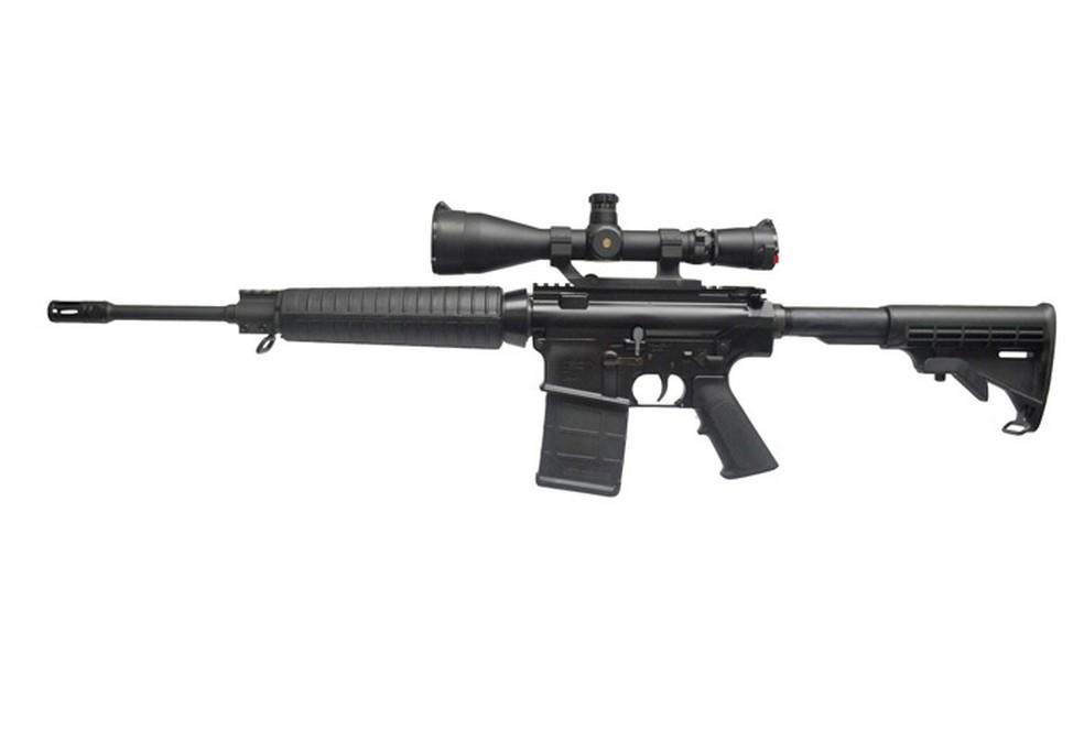 O Bope adquiriu 600 fuzis AR-10 que podem ser usados por atiradores designados — Foto: Reprodução