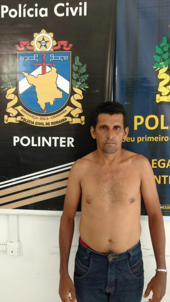 Agricultor é preso suspeito de causar a morte da esposa grávida após série de agressões no interior de Roraima