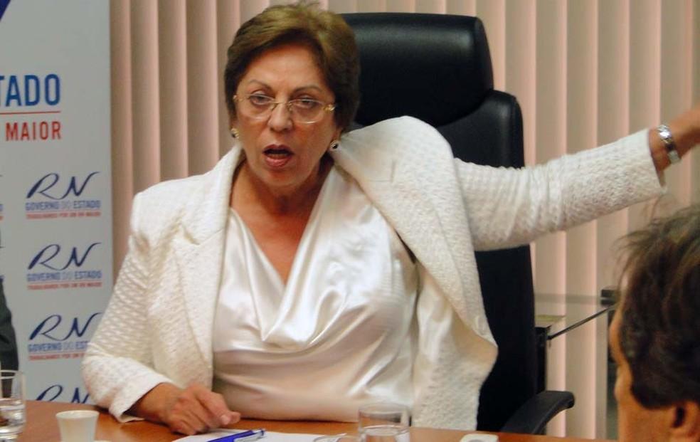Rosalba Ciarlini, ex-governadora do RN e atual prefeita de Mossoró — Foto: Ricardo Araújo/G1