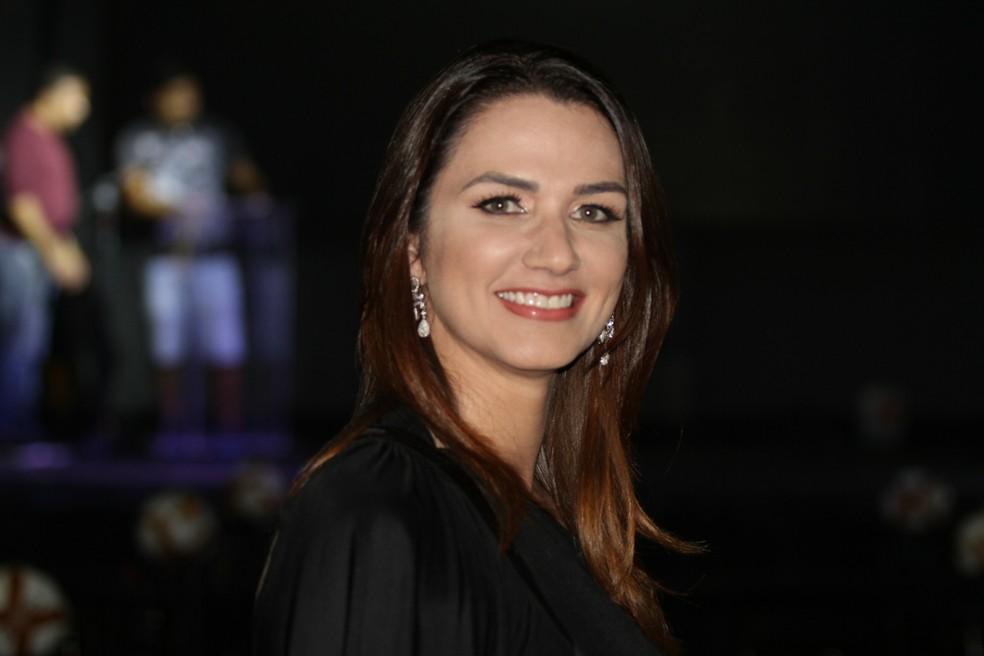 Michelle Ramalho fez revelação após reunião com Rogério Caboclo — Foto: Cisco Nobre/GloboEsporte.com