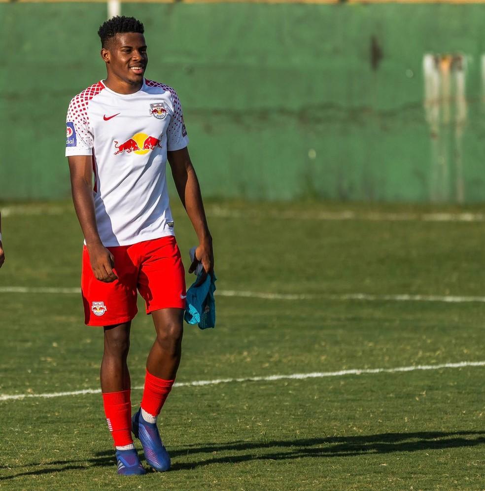 Daniel Vivas passou pela base do Dínamo antes de se transferir para o RB Brasil, time sub-23 do Bragantino — Foto: Divulgação