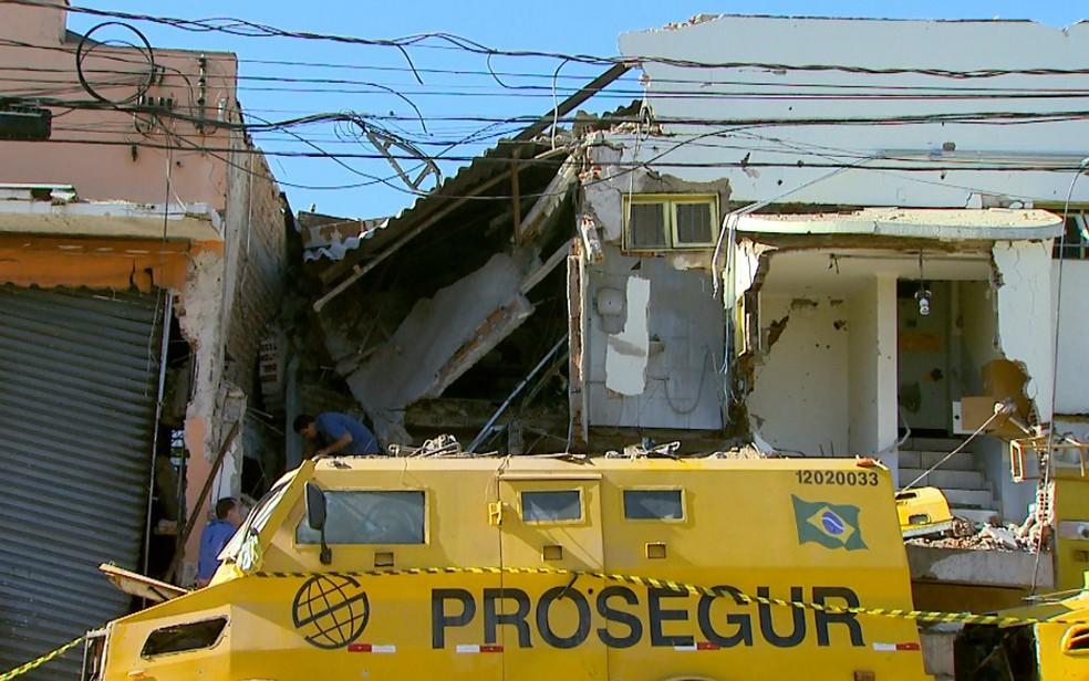 Em mega-assalto, quadrilha fugiu com R$ 51 milhões da Prosegur em Ribeirão Preto — Foto: Paulo Souza/EPTV/Arquivo
