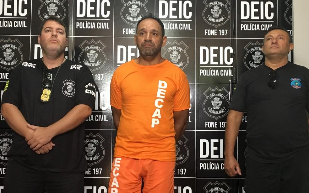 Parsilon Lopes foi preso e confessou ter matado motorista de app — Foto: Vitor Santana/G1