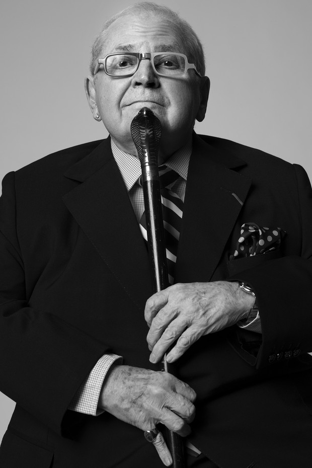 Jô Soares, 2015 (Foto: Divulgação/ Bob Wolfenson)