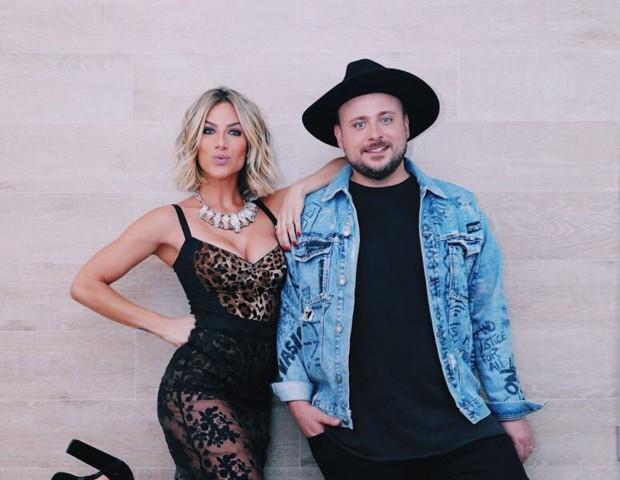 Giovanna Ewbank e Léo Fuchs (Foto: Elvis Moreira)