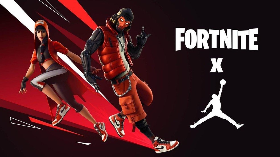 Jordan vs. Fortnite. (Image: Epic Games)