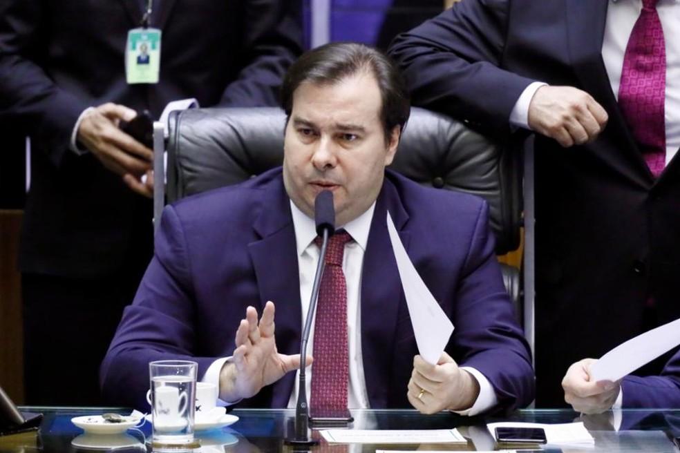 O presidente da Câmara, Rodrigo Maia (DEM-RJ) — Foto: Luis Macedo/Câmara dos Deputados