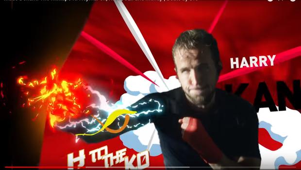 Harry Kane, jogador da Inglaterra, no comercial da Beats. O segundo anúncio mais popular da Copa no YouTube não é de material esportivo (Foto: Reprodução)